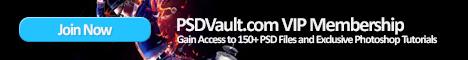 PSDVault.com VIP Membership 486px * 60px